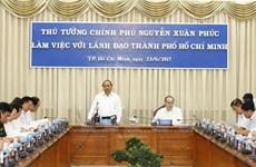 À Hô Chi Minh-Ville, le Premier ministre Nguyên Xuân Phuc montre la voie