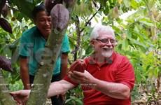 Le belge Belvie Chocolate fond de plaisir pour le cacao vietnamien