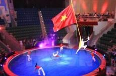Le Vietnam gagne l'or au Festival international du cirque Circuba 2017