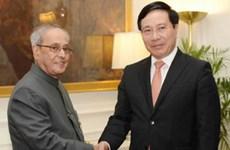 Le vice-PM Pham Binh Minh plaide pour des liens accrus Vietnam-Inde, ASEAN-Inde