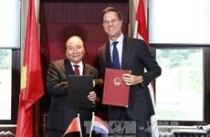 Le Vietnam et les Pays-Bas publient une déclaration commune