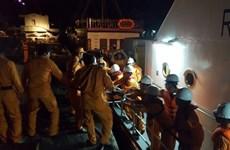 Victime d'un accident, un marin chinois transporté sur la terre ferme