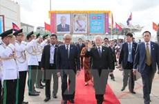 Le leader du PCV plaide pour la coopération décentralisée Vietnam - Cambodge