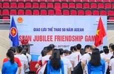 Echange sportif en l'honneur du cinquantenaire de l'ASEAN