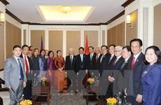 Le secrétaire général du PCV rencontre la diaspora vietnamienne au Cambodge