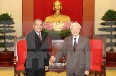 Vietnam et Laos renforcent la coopération pour promouvoir l'œuvre de renouveau
