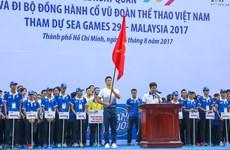 Plus de 5.000 personnes marchent pour la délégation vietnamienne aux SEA Games 29