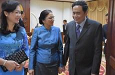 Le FPV affirme œuvrer aux relations spéciales Vietnam-Laos