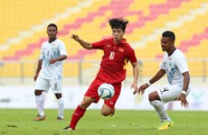 SEA Games 29 : la sélection vietnamienne de football commence du bon pied