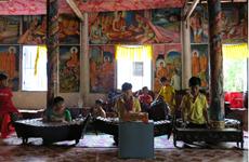 Dans le delta du Mékong, la pagode Doi sur un air de musique traditionnelle