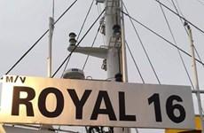Un membre d'équipage du Royal 16 libéré par les Philippines