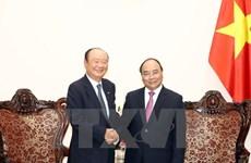 Le Premier ministre reçoit le président du groupe sud-coréen Charmvit