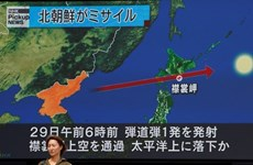 """Le Vietnam """"profondément préoccupé"""" par le tir de missile nord-coréen"""