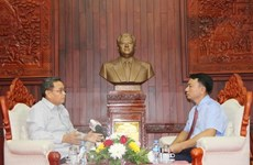 Les enseignements du président Ho Chi Minh sont précieux pour le Front du Laos