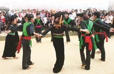 Les tenants de la tradition de l'ethnie Công ravis à Lai Châu