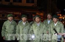 Le PM Nguyên Xuân Phuc dirige le règlement des dégâts du typhon Doksuri