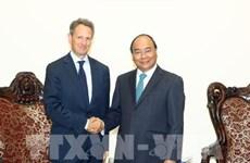 Le PM Nguyên Xuân Phuc reçoit le président de Warburg Pincus