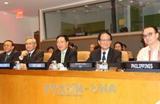 Le vice-PM et ministre des AE Pham Binh Minh à l'AMM en marge de la 72e AG de l'ONU