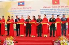 Inauguration de la maison mémoriale du président Ho Chi Minh à Kim Liên