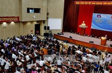 Ouverture de la Rencontre d'amitié et de coopération Vietnam - Cambodge