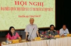 Les électeurs de Hanoi font l'éloge des efforts du Parti et de l'Etat dans la lutte anti-corruption