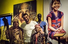 Le photographe français Réhahn aspire à convier les ethnies du Vietnam
