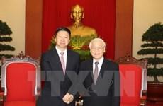 Le secrétaire général du PCV reçoit l'envoyé spécial de Xi Jinping