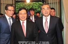 Vietnam-Chine: Entretien entre Pham Binh Minh et Wang Yi