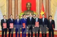 Des diplomates vietnamiens à l'honneur