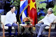 Vietnam-Cuba : renforcement de l'amitié et de la solidarité entre les Partis communistes