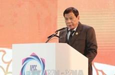 Le président philippin Rodrigo Duterte appelle l'intégration intégrale d'Asie-Pacifique