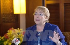 APEC 2017: la présidente chilienne apprécie la capacité d'organisation du Vietnam