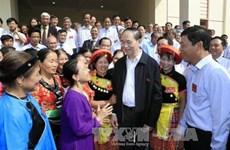 Le président Trân Dai Quang exhorte à promouvoir les mouvements d'émulation patriotique