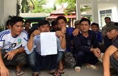 Cinq capitaines vietnamiens devant la justice indonésienne