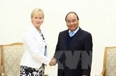 Le PM Nguyen Xuan Phuc appelle à l'expansion de la coopération Vietnam-Suède