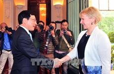 Le Vietnam et la Suède veulent renforcer leurs relations multiformes