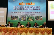 L'Inde et le delta du Mékong veulent booster leur coopération agricole