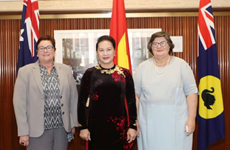 La présidente de l'Assemblée nationale du Vietnam en Australie-Occidentale