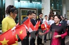 La présidente de l'AN termine sa visite officielle à Singapour et en Australie
