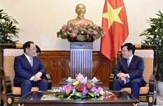 Le vice-PM Pham Binh Minh reçoit le président du groupe sud-coréen Taekwang