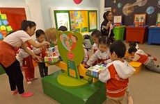 Au Musée des femmes du Vietnam, la sexualité expliquée aux enfants