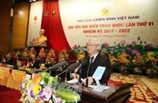 Ouverture du 6e Congrès national de l'Association des anciens combattants du Vietnam