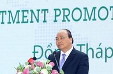 Le Premier ministre Nguyên Xuân Phuc exhorte Dông Thap à promouvoir l'interconnexion