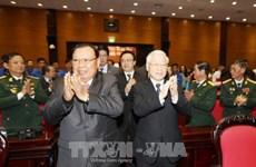 Le président laotien exalte la solidarité spéciale Vietnam-Laos