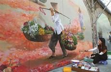 Le street art appose sa touche dans la capitale