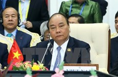 Le PM au 2e Sommet de coopération Mékong-Lancang