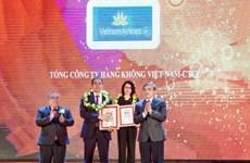Vietnam Airlines au top dix des meilleures entreprises du Vietnam