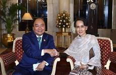 Le Premier ministre rencontre des dirigeants de différents pays en Inde