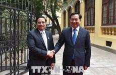 Un dirigeant vietnamien en visite à Guangdong, Chine