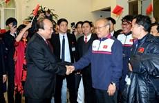 Une joie tellement immense, dit le PM Nguyên Xuân Phuc à l'équipe U23